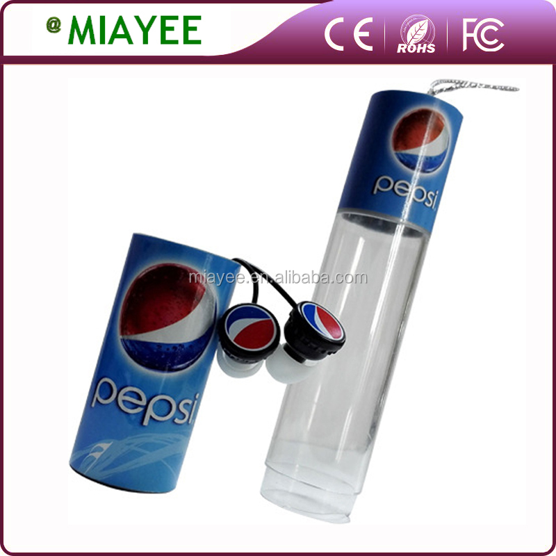 TOP selling MP3 Earphones for Pepsi Promotion Printing