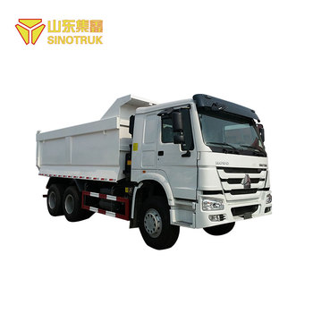Direct factory price howo 6 wheel mining dump truck capacity for sale