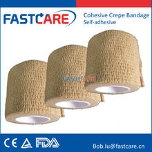 elastic bandage no clips self sticky