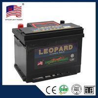 55530 DIN style full powerful quick start car battery