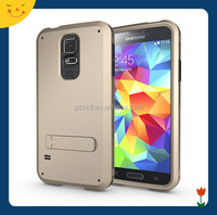 China wholesale! 3 in1 hybrid hard rugged cell phone case for samsung galaxy S5 strong box case cover