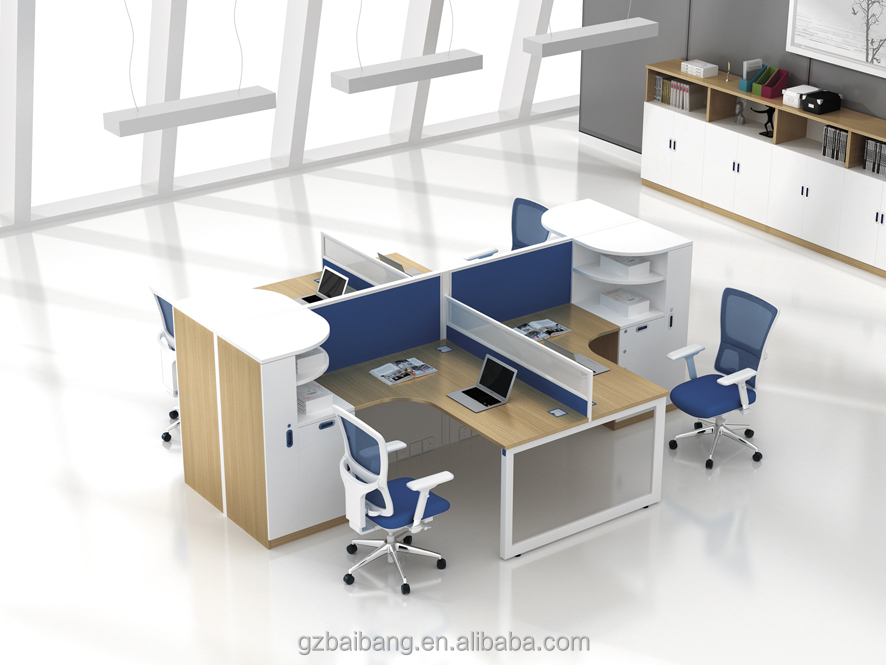 manufacturers series design commercial desk cubicles with hutch