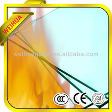 Cheap fire resistant glass tempered glass from manufacturer