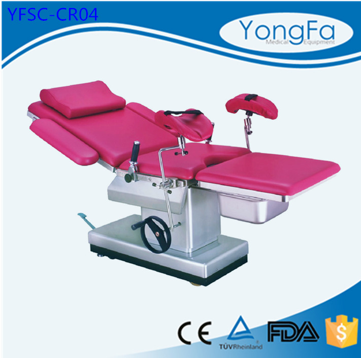 Hydraulic Delivery Table, Labor and Delivery Bed, Gynecological Table