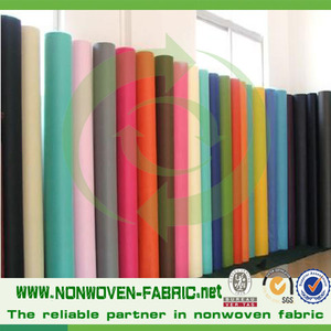 pp spunbonded nonwoven fabrics, fabricas de tela /tela no tejida/telas , wholesale low price fabric cloth roll for wall