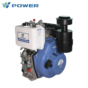 New 14hp single cylinder air cooled diesel engine HP192FSE