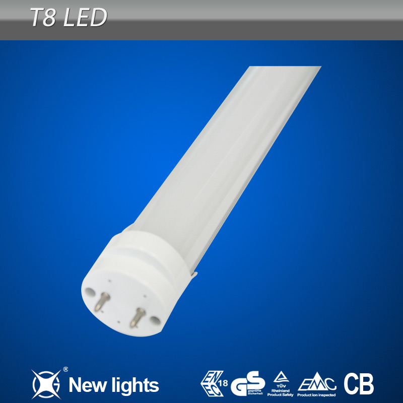 led chinese red tube korea t8 2700-6500k