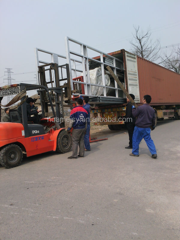 Power and Free Conveyor Powder Coating Plant for alumium profiles painting