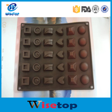 FBA Service Wisetop Branded Chocolate Decorating mold, Anti Dust Chocolate mold maker