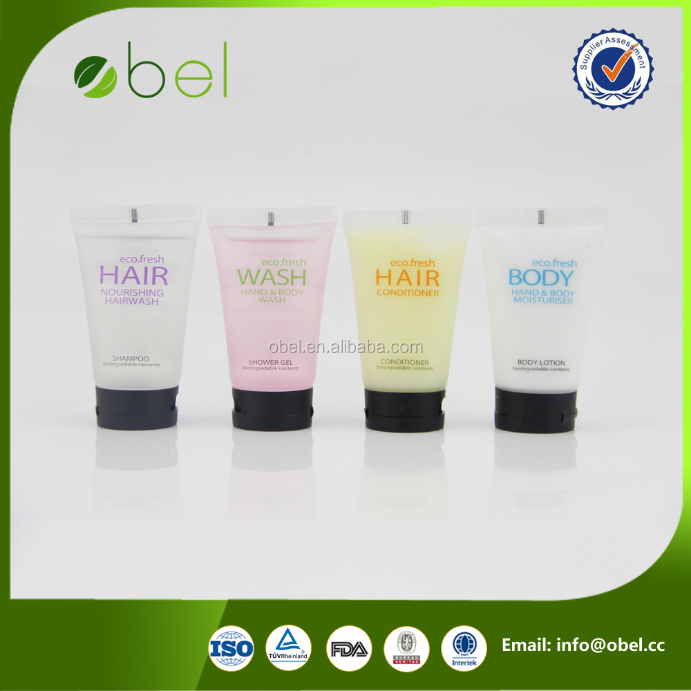30ml advertisement for shampoo tube with personalized logo
