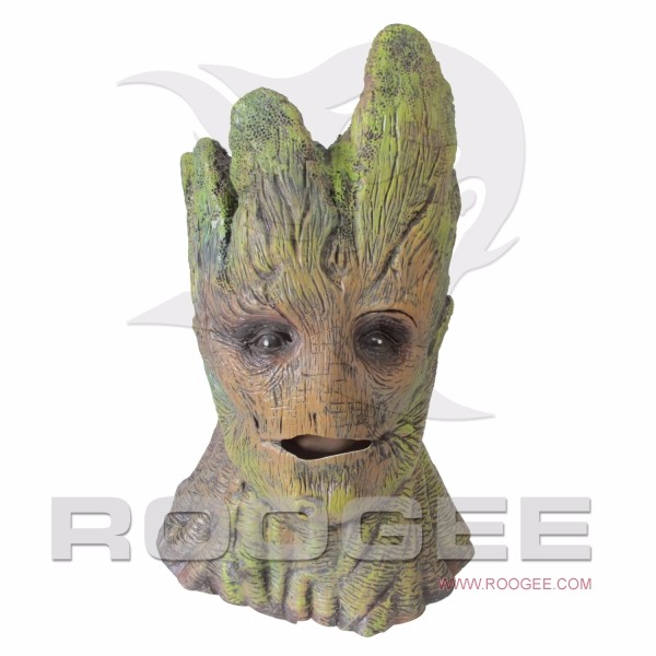 Halloween Full Head Creepy Mask Tree Monster Masquerade Party Cosplay Halloween Latex Mask