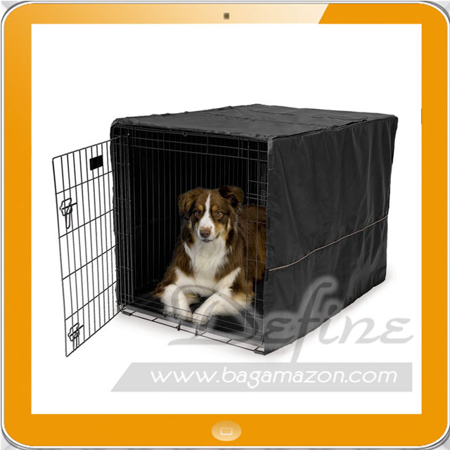 Heavy-Duty Polyester Dog Crate Cover for Pets Crate
