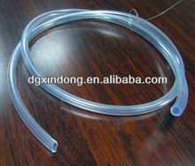 ODM crystal clear plastic tube for mass production