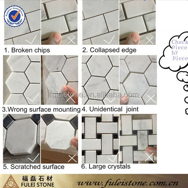hot sale 3d gold glass marble mosaic tiles