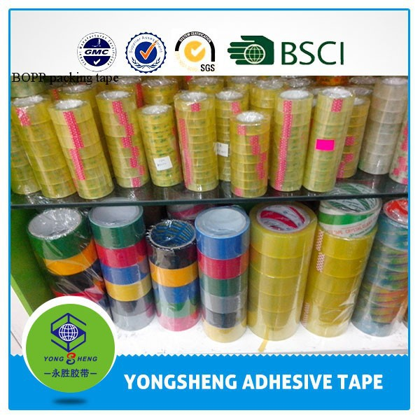 BOPP adhesive packing tape,packing tape manufacture,adhesive tape raw materials