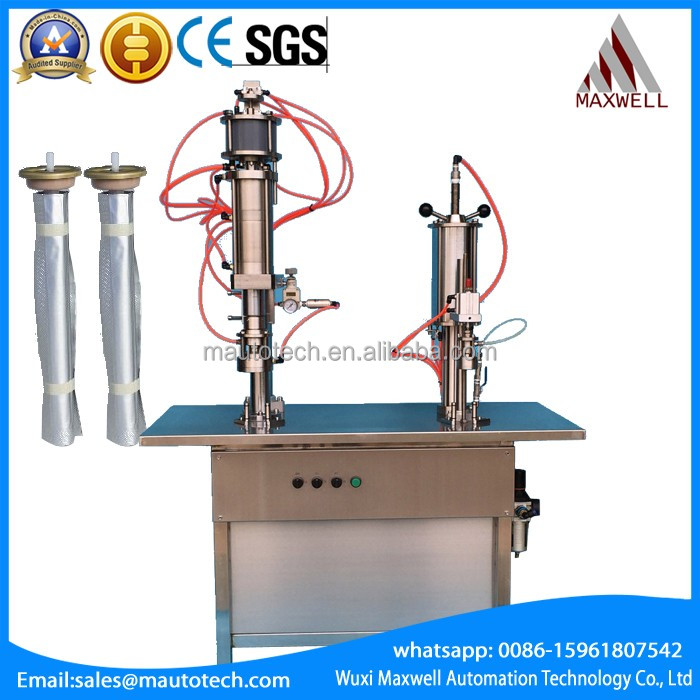 valve aerosol filling machine