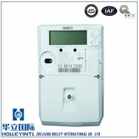 2016 Top Quality Aes Encryption Technology Oem Single Phase Din-Rail Kilowatt Hour Kwh Energy Meter