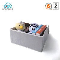 Free sample Fabric collapsible toy storage box bin