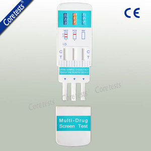 Multi drug 3 test panel for rapid test with CE
