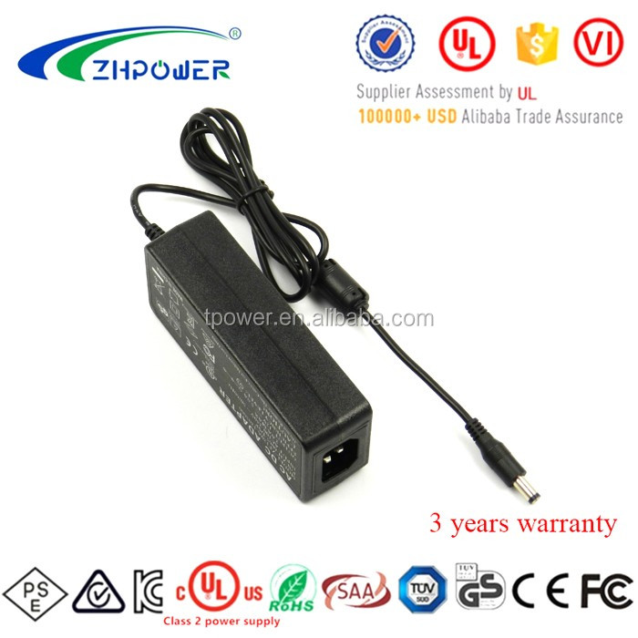 UL1310 Class2 24V 2.5A Switching Power Supply 24Volt2.5Amp AC/DC adaptor 60W AC Adapter ZF120A-2402500