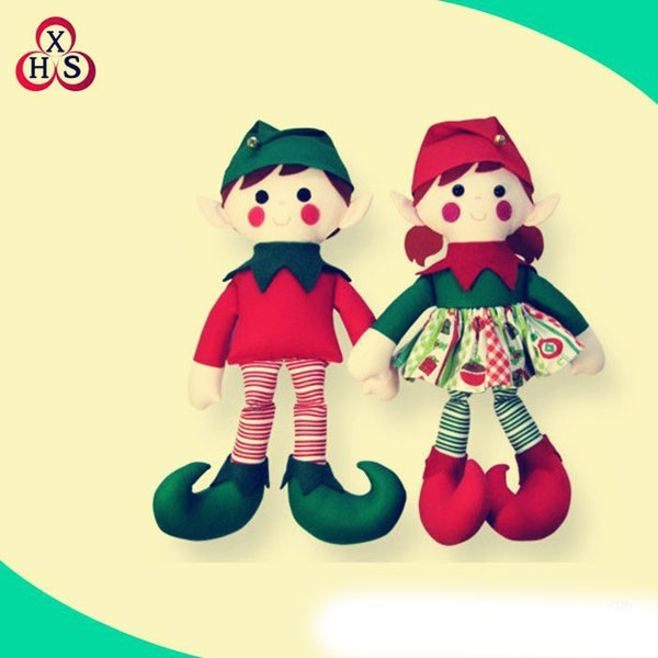 2015 hot sale plush toys big clown doll for christmas gift