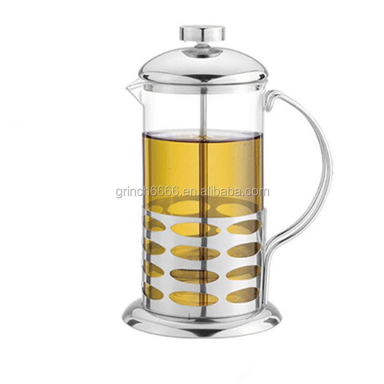 French Press Premium Coffee Tea & Espresso Maker with Heat Resistant Glass and Stainless Steel Plunger