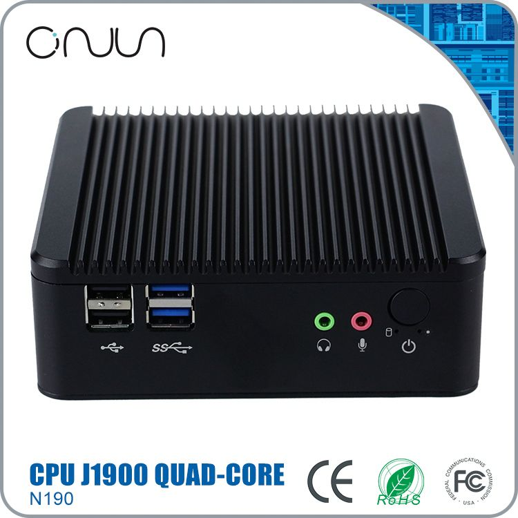 best sell mini barebone pc case j1900 barebone mini computer