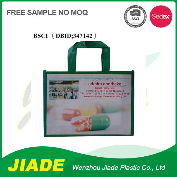 Newest design top quality custom nonwoven lining pp non woven bag for lunch using