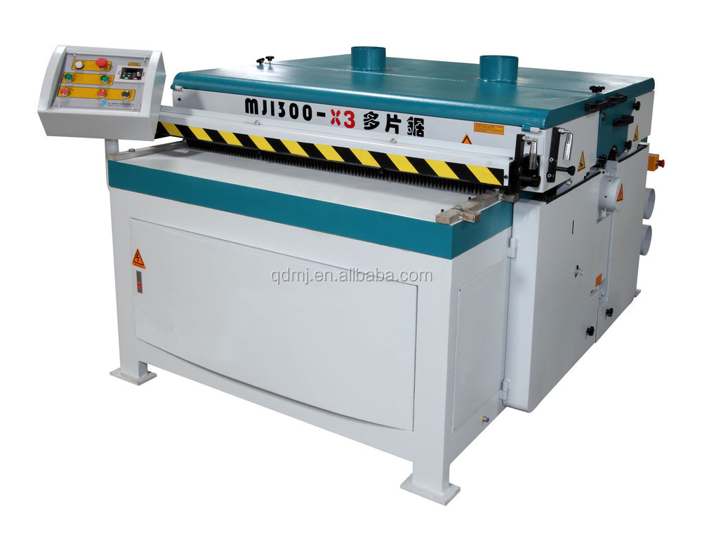 Woodworking Multiple rip Cutting Saw Machine
