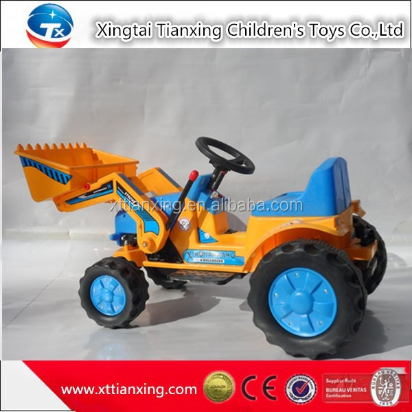 High quality best price kids indoor/outdoor sand digger battery electric ride on car kids amusement kids ride on toy crane