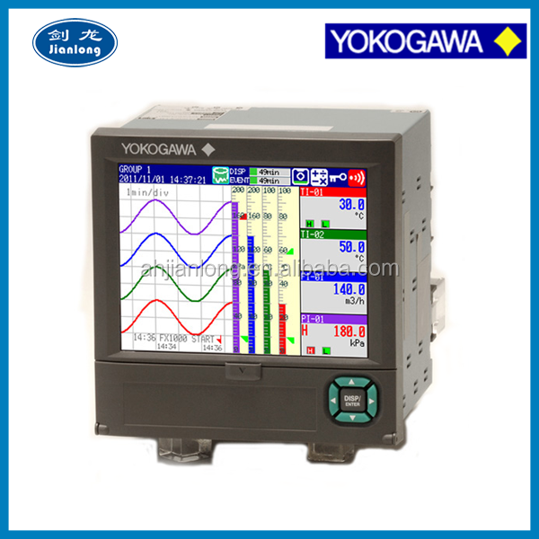 Yokogawa 6 channels FX1002 2 channel Paperless Recorder