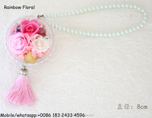 Beautiful preserved flower hanging decorative flower ball wholesale From Yunna China