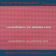 100% Polyester Dobby lining fabric