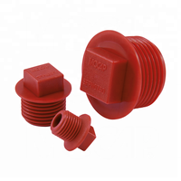 NPT Square Flanged Head Male Threaded Plug For Pipe Valve Fittings