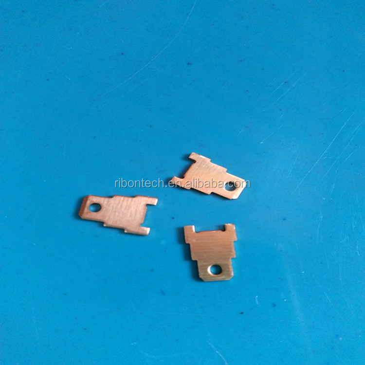 China factory gold coating custom pcb strip terminals