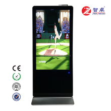 Zhizhuo Freestanding Interactive Signage Touchscreen Android System With webcam