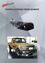 TOYOTA LAND CRUISER PICK UP LC70 FRONT BUMPER ,LC PICK UP FRONT BUMPER