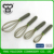 Special design cucumber shape silicone wire whisk flat egg beater