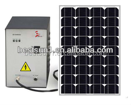 150w The latest product portable solar pump system for small home