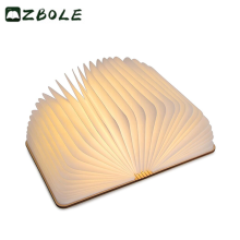 2018 Trending product led book lamp wholesale valentine promotional gift
