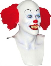 Top selling halloween prop Latex costume Scary Clown mask for party accessory