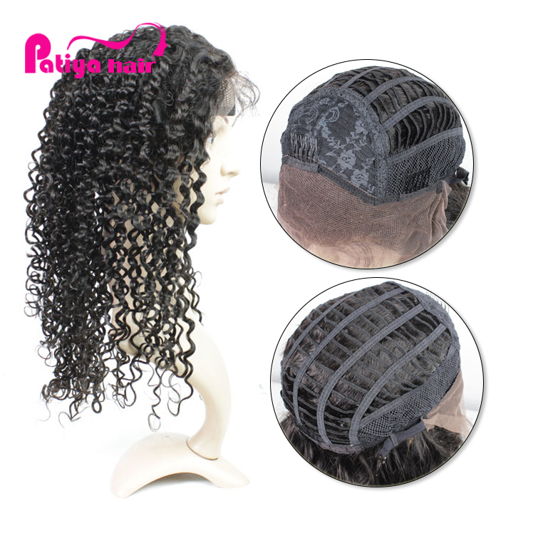 Attractive Brazilian Deep Curly Hair In Wig Short Long, Beautiful Ladies' Wigs and Pony Tails With Natural Looking Baby Hair