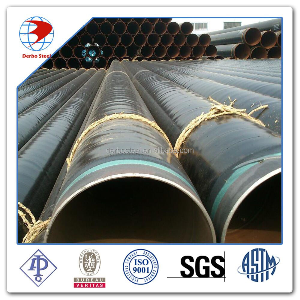 Grade B-X70 Saw 3lpe Steel Pipe for Line Pipe System
