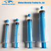 Colored Plunger Disposable Medical Luer Lock Syringe