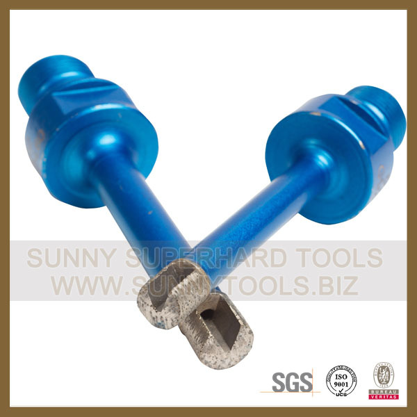 China supplier high quality Solid diamond core drill bits for stone