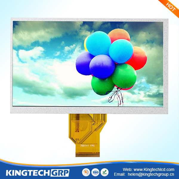 tft lcd monitor 12v 7 inch replacement screen for android tablet