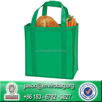 Custom Cheap Reuseable Non Woven Bags Foldable Trolley Shopping Bags Wholesale