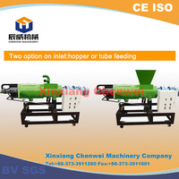 China hot sale widely used Screw press dewatering machine for chicken dung