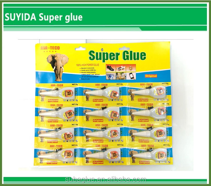 Plastic bottles magnet adhesive glue fast curing time ethyl cyanoacrylate adhesive