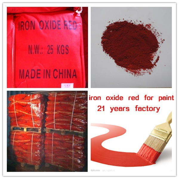 paint colors iron oxide pigment